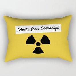 Cheers from Chernobyl Rectangular Pillow