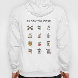 i'm a coffee lover Hoody
