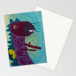 Dragon : Funny creature Series Stationery Cards