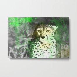 cheetah 3 Metal Print