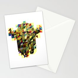 Slavic mask Stationery Cards