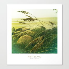 Beach Grass - Fripp Island, South Carolina Canvas Print