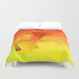 Cubism Abstract 176 Duvet Cover