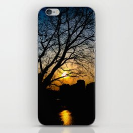 Sunset Silhouette iPhone Skin