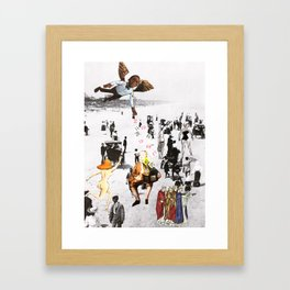 The gift of numbers Framed Art Print