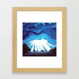 Hutt Island Framed Art Print