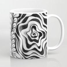 Doodled Rose & Vine Coffee Mug