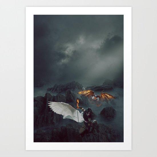 Dragon's Nest Art Print