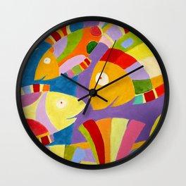 Fische Wall Clock