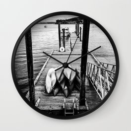 Sittin' on the Dock of the Bay Wall Clock