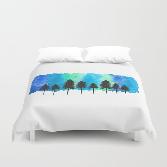 The Cold North Duvet Cover