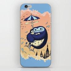 High Flying Hugs iPhone & iPod Skin