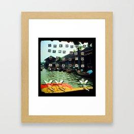 Culture Clash #20 Framed Art Print