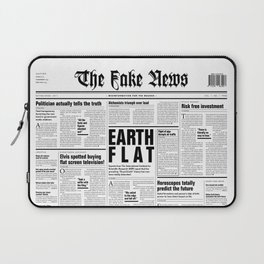 The Fake News Vol. 1, No. 1 Laptop Sleeve
