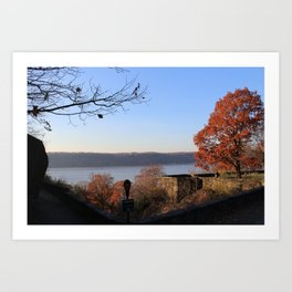 The Cloisters, NY Art Print
