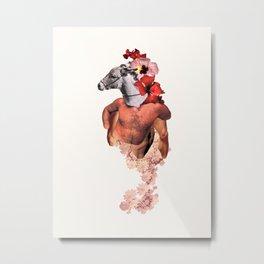 Donkey Rosario Metal Print