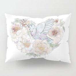 bird of paradise , paradisebirds , simple floral graphic design , gift for gardener Pillow Sham