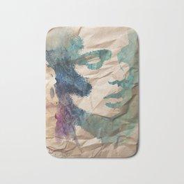"""forever my utopia"" art by weart2 Bath Mat"