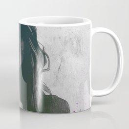 To The Marrow: Purple (faceless nude woman with lilies tattoos) Coffee Mug