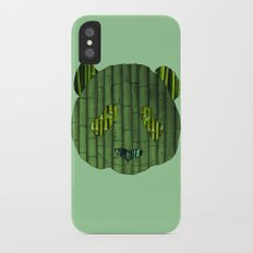 Panda & bamboo iPhone X Slim Case