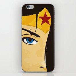 Wonder, Hero DC, Woman iPhone Skin