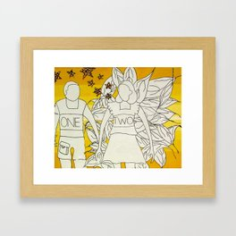 OneTwo Framed Art Print