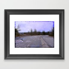Life was a Highway Framed Art Print