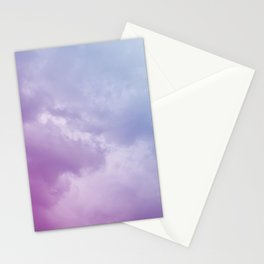 Lavender Clouds Stationery Cards