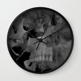 Skull Wave Wall Clock