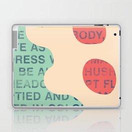 lie cold Laptop & iPad Skin