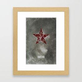 Codename Winter Soldier Framed Art Print