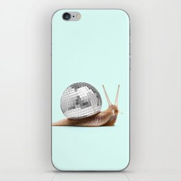 DISCO SNAIL iPhone Skin