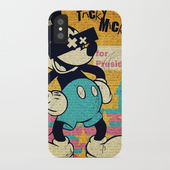 Tricky Mickey iPhone Case