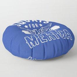 Squats For Merica Floor Pillow