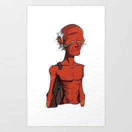 Oldman v2 Art Print