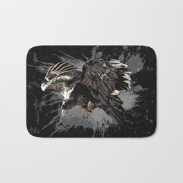 Stylized Eagle Bath Mat