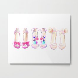 Shoes no 1 Metal Print