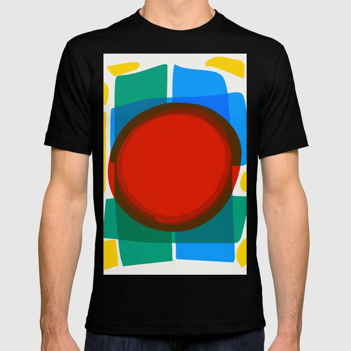 e129379a Minimal Abstract Art Design T-shirt by emmanuelsignorino | Society6