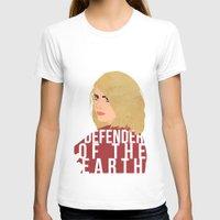 tyler spangler T-shirts featuring Rose Tyler by imsirius