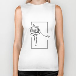 Tibetan prayer wheel Biker Tank