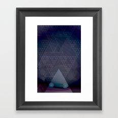 illuminate me purple Framed Art Print