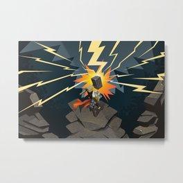 Thor: God of Thunder Metal Print