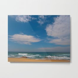 South African Beaches Metal Print