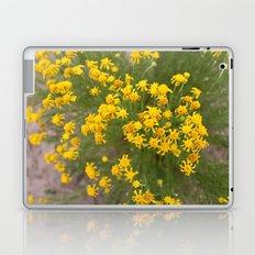 Yellow Wild Flowers Laptop & iPad Skin