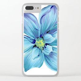 Flower ;) Clear iPhone Case