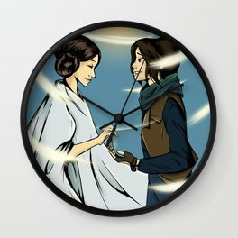 Leia's Message Wall Clock