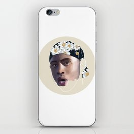 Incomplete Tyler, The Creator Floral Cap iPhone Skin