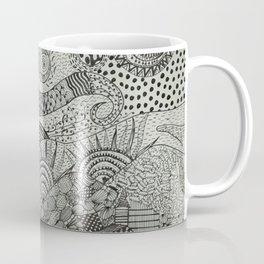 Doodled Starry Nights Coffee Mug