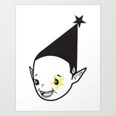 PAUL PIERROT JOKER SMILE :D -  I C U U C ME Art Print