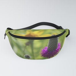 Prairie clover and sunflower Fanny Pack